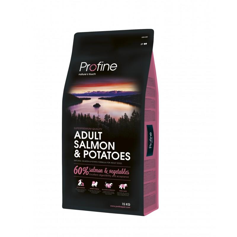 croquettes profine pour chien hypoallergenique au saumon sac de 3 kg. Black Bedroom Furniture Sets. Home Design Ideas