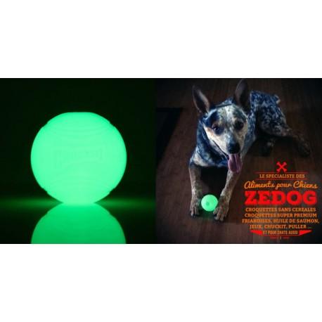 Balle pour chien phosphorescente CHUCKIT