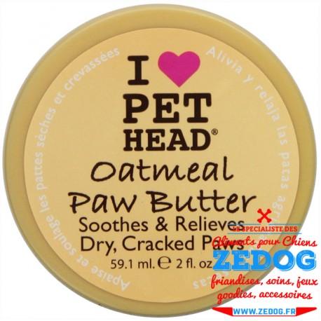 soin pour les coussinets des chiens oatmeal paw butter