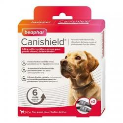 Canishield, Taille 2,  2 colliers chien anti puces, tiques et moustiques