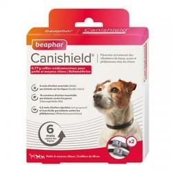 collier chien anti puces, tiques et moustiques. Pack 2 colliers. Taille 1