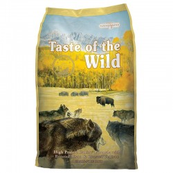 Lot de 2 sacs de 13 kilos taste of the wild high prairie formula