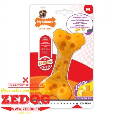 Nylabone  ® Cheese Bone M