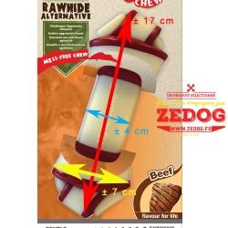 Nylabone  ® Rawhide Knot  goût steack de boeuf L
