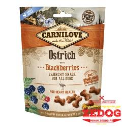 snack Carnilove pour chien à l'autruche 200 gr