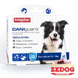CANIguard, pipettes antiparasitaires pour chien moyen