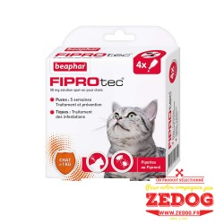 FIPROtec, pipettes antiparasitaires pour chat