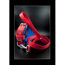 Collier El Perro Fleece Red
