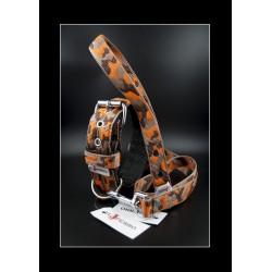 Collier El Perro Camo orange