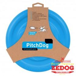 Frisbee Pitchdog Ø 24 cm Bleu