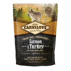 Carnilove adulte large breed saumon et dinde 1,5 kg